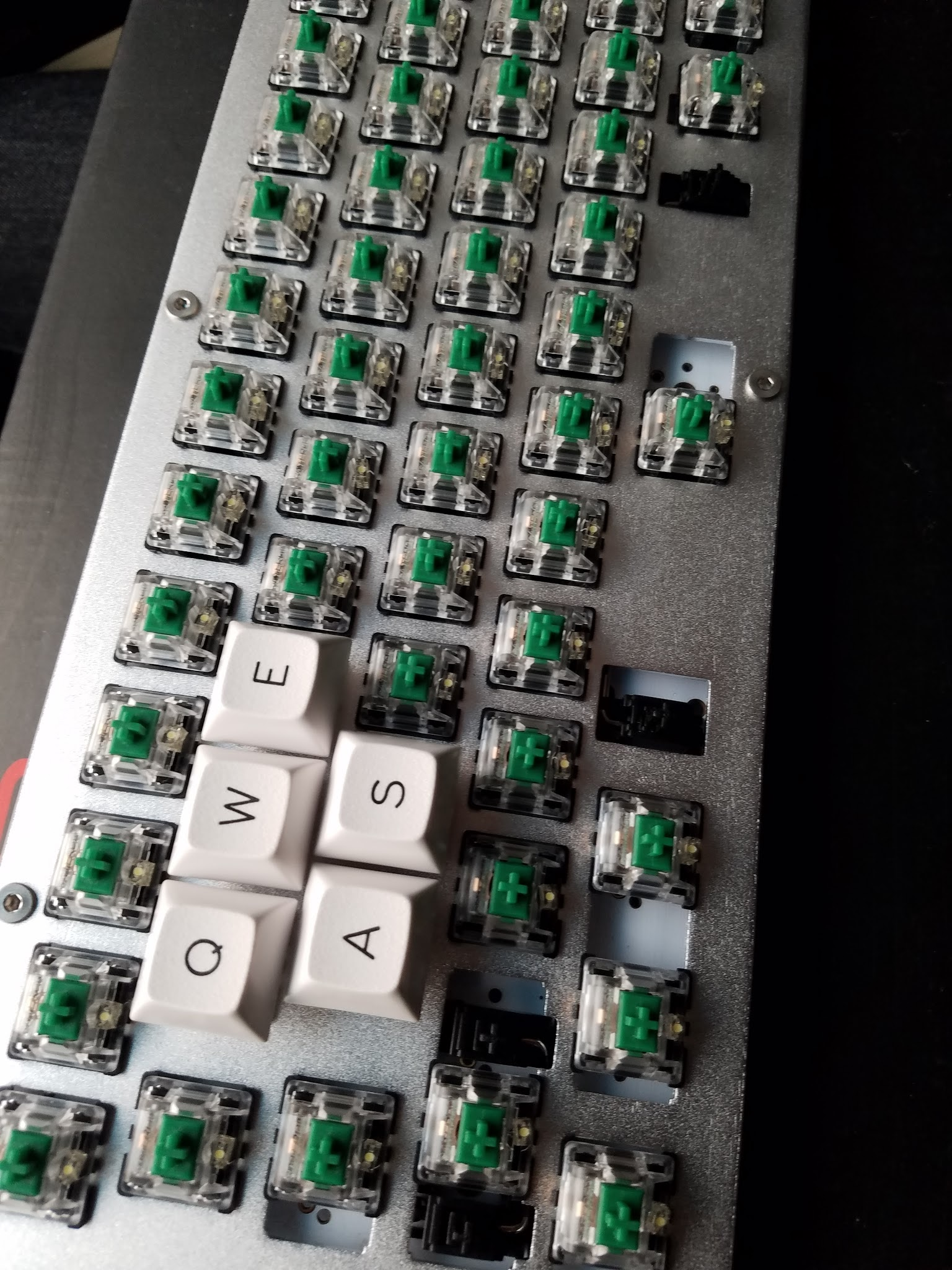 Building My S60-X Keyboard